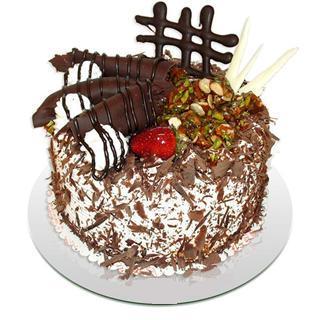 4 ile 6 kisilik çikolatali yas pasta  Şanlıurfa online çiçek gönderme sipariş