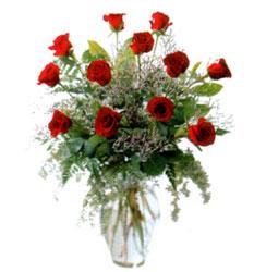 Vazo içerisinde 11 kirmizi gül  Şanlıurfa çiçekçi telefonları
