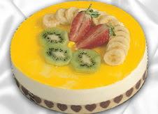 pasta gönderme 4 ile 6 kisilik yas pasta muzlu yaspasta  Şanlıurfa çiçek siparişi vermek