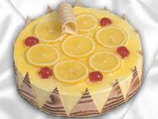 taze pastaci 4 ile 6 kisilik yas pasta limonlu yaspasta  Şanlıurfa çiçek satışı