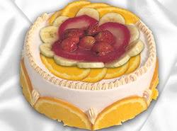leziz pastane 4 ile 6 kisilik yas pasta meyvali yaspasta  Şanlıurfa online çiçek gönderme sipariş
