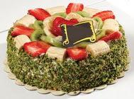 pasta gönder  4 ile 6 kisilik karisik meyvali yas pasta  Şanlıurfa çiçek gönderme