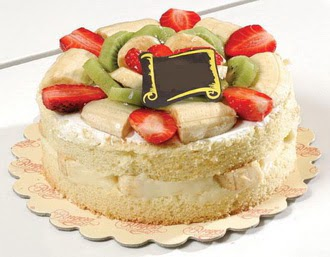 pasta siparisi 4 ile 6 kisilik karisik meyvali yas pasta  Şanlıurfa internetten çiçek siparişi