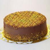 sanatsal pastaci 4 ile 6 kisilik krokan çikolatali yas pasta  Şanlıurfa çiçek , çiçekçi , çiçekçilik