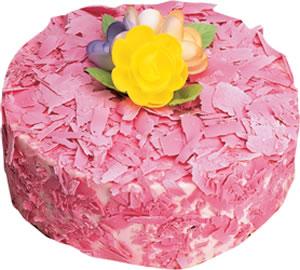 pasta siparisi 4 ile 6 kisilik framboazli yas pasta  Şanlıurfa çiçek online çiçek siparişi