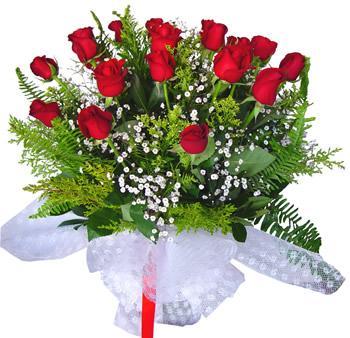 11 adet gösterisli kirmizi gül buketi  Şanlıurfa çiçek gönderme sitemiz güvenlidir