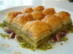 tatli siparisi essiz lezzette 1 kilo fistikli baklava  Şanlıurfa İnternetten çiçek siparişi