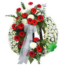 Cenaze çelengi cenaze çiçek modeli  Şanlıurfa hediye çiçek yolla