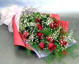 10 adet kirmizi gül çiçegi gönder  Şanlıurfa çiçek siparişi sitesi