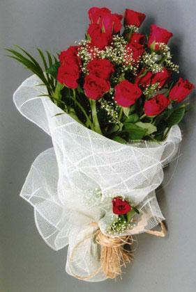 10 adet kirmizi güllerden buket çiçegi  Şanlıurfa cicekciler , cicek siparisi