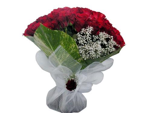 25 adet kirmizi gül görsel çiçek modeli  Şanlıurfa internetten çiçek siparişi