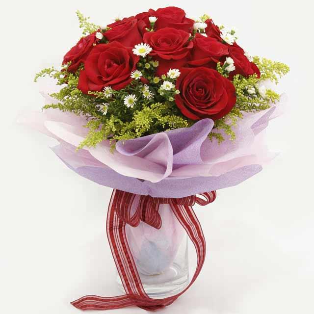Çiçek gönderme estetikliginiz 11 gül buket  Şanlıurfa çiçek yolla , çiçek gönder , çiçekçi