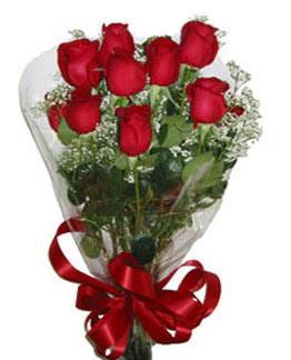 Çiçek sade gül buketi 7 güllü buket  Şanlıurfa çiçek satışı