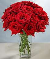 Şanlıurfa çiçek yolla , çiçek gönder , çiçekçi   cam vazoda 11 kirmizi gül  Şanlıurfa internetten çiçek satışı