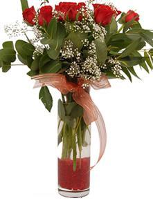Şanlıurfa hediye çiçek yolla  11 adet kirmizi gül vazo çiçegi