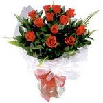 Şanlıurfa güvenli kaliteli hızlı çiçek  9 adet güzel bir gül buketi