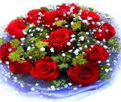 9 adet kirmizi güllerden buket  Şanlıurfa çiçek mağazası , çiçekçi adresleri