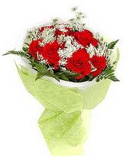Şanlıurfa güvenli kaliteli hızlı çiçek  7 adet kirmizi gül buketi tanzimi