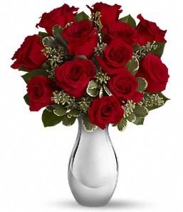 Şanlıurfa çiçekçi telefonları   vazo içerisinde 11 adet kırmızı gül tanzimi