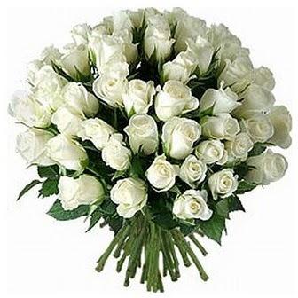 Şanlıurfa internetten çiçek siparişi  33 adet beyaz gül buketi