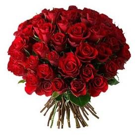 Şanlıurfa güvenli kaliteli hızlı çiçek  33 adet kırmızı gül buketi