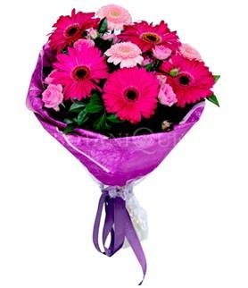 Şanlıurfa İnternetten çiçek siparişi  karışık gerbera çiçeği buketi