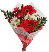 Mevsim çiçeklerinden görsel buket  Şanlıurfa çiçek yolla