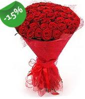 51 adet kırmızı gül buketi özel hissedenlere  Şanlıurfa İnternetten çiçek siparişi