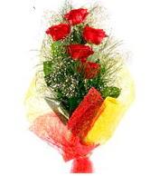 5 li kırmızı gül buketi  Şanlıurfa çiçek gönderme sitemiz güvenlidir