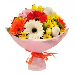 Karışık mevsim buketi Mevsimsel çiçek  Şanlıurfa çiçek gönderme