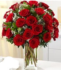 Vazo içerisinde 33 adet kırmızı gül  Şanlıurfa çiçek , çiçekçi , çiçekçilik