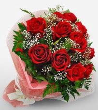 12 adet kırmızı güllerden kaliteli gül  Şanlıurfa çiçekçi telefonları