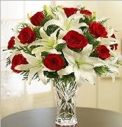 12 adet kırmızı gül 2 dal kazablanka vazosu  Şanlıurfa kaliteli taze ve ucuz çiçekler