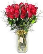 27 adet vazo içerisinde kırmızı gül  Şanlıurfa anneler günü çiçek yolla