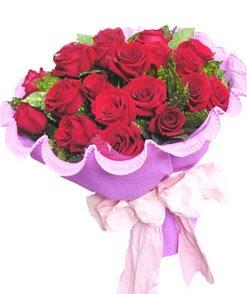12 adet kırmızı gülden görsel buket  Şanlıurfa çiçek yolla , çiçek gönder , çiçekçi