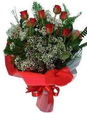 7 kırmızı gül buketi  Şanlıurfa internetten çiçek siparişi