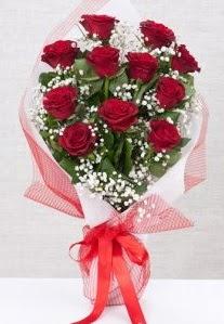 11 kırmızı gülden buket çiçeği  Şanlıurfa çiçekçi mağazası