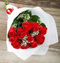 9 kırmızı gülden buket çiçeği  Şanlıurfa çiçek servisi , çiçekçi adresleri