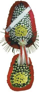 Çift katlı düğün açılış çiçeği  Şanlıurfa internetten çiçek siparişi