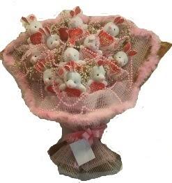 12 adet tavşan buketi  Şanlıurfa çiçek siparişi vermek