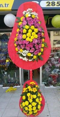 Çift katlı düğün nikah açılış çiçek modeli  Şanlıurfa çiçek satışı