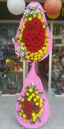Çift katlı düğün nikah açılış çiçek modeli  Şanlıurfa çiçek yolla