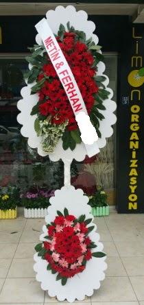 Çift katlı düğün nikah çiçeği modeli  Şanlıurfa İnternetten çiçek siparişi