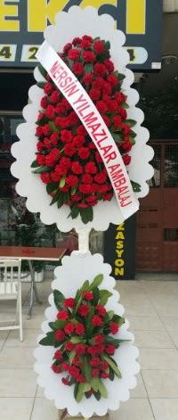 Çift katlı düğün nikah çiçeği modeli  Şanlıurfa online çiçekçi , çiçek siparişi