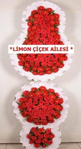 3 katlı kırmızı düğün açılış çiçeği  Şanlıurfa çiçek servisi , çiçekçi adresleri
