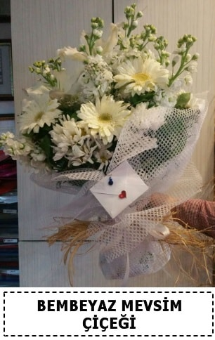 Bembeyaz görsel mevsim çiçek buketi  Şanlıurfa çiçek online çiçek siparişi