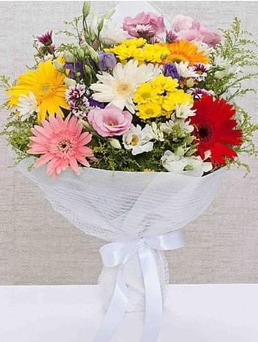 Karışık Mevsim Buketleri  Şanlıurfa yurtiçi ve yurtdışı çiçek siparişi