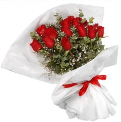 9 adet kırmızı gül buketi  Şanlıurfa çiçek yolla , çiçek gönder , çiçekçi
