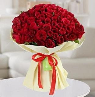 101 adet kırmızı gül buketi koca demet  Şanlıurfa çiçek gönderme