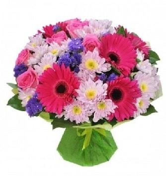 Karışık mevsim buketi mevsimsel buket  Şanlıurfa kaliteli taze ve ucuz çiçekler